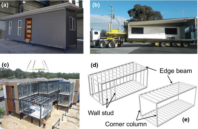 End Plate Stiffener Connection For Shs Column And Rhs Beam In Steel Framed Building Modules Springerlink