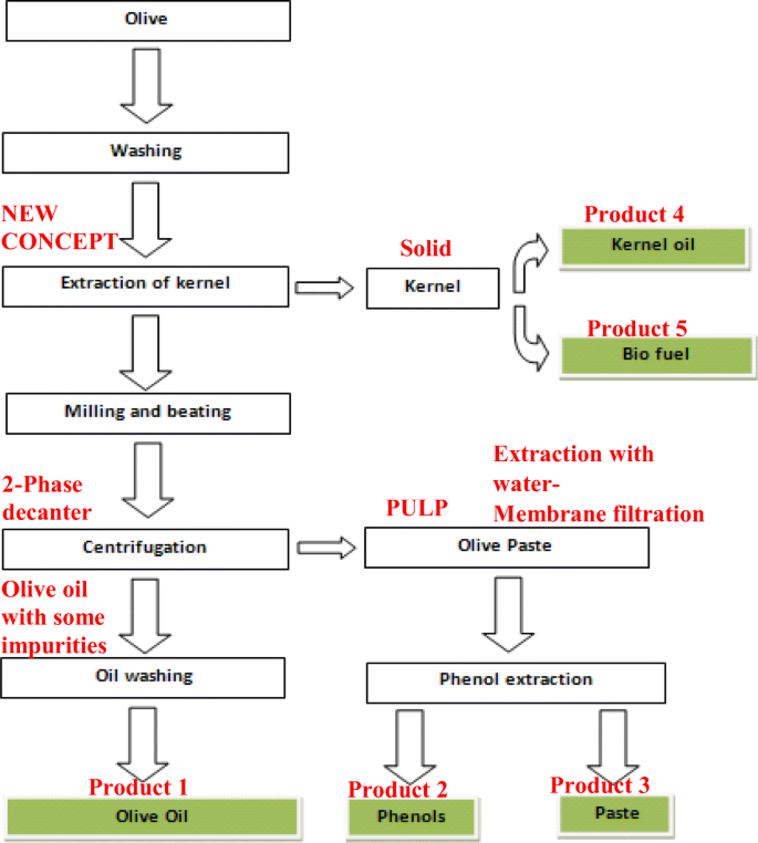 A New Olive Oil Production Scheme With Almost Zero Wastes Springerlink