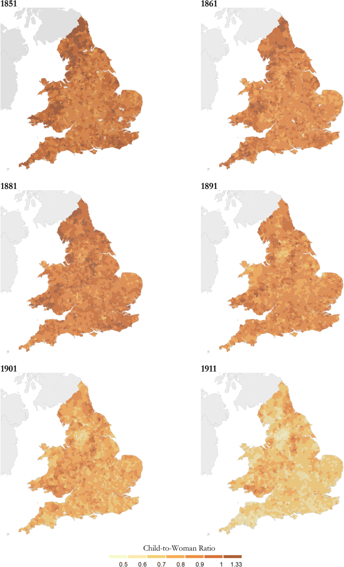 Revisiting the Fertility Transition in England and Wales: The Role ...