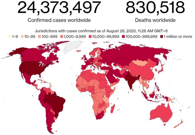 Coronavirus Pandemic Covid 19 And Its Natural Environmental Impacts Springerlink