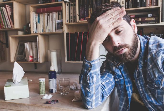 Definition männergrippe Männerschnupfen