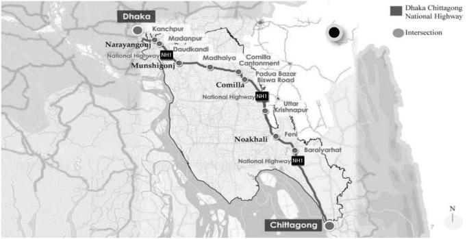 An economic analysis of the proposed Dhaka–Chittagong Expressway ...