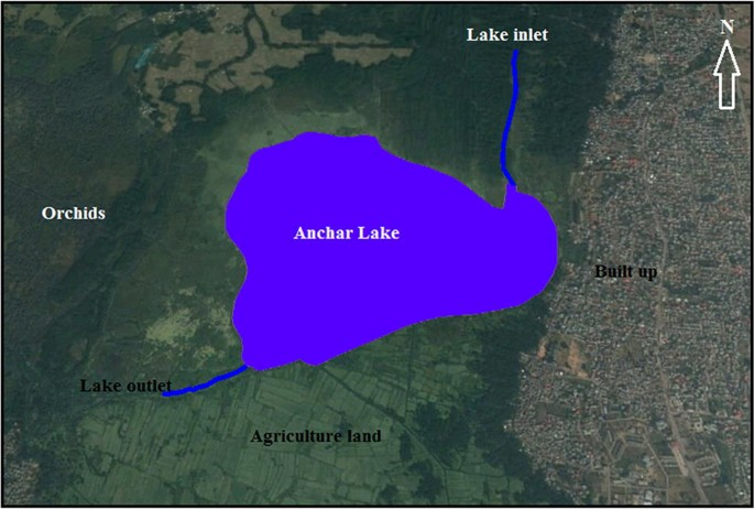orchid lake feature map Environmental Magnetism And Heavy Metal Assemblages In Lake Bottom orchid lake feature map