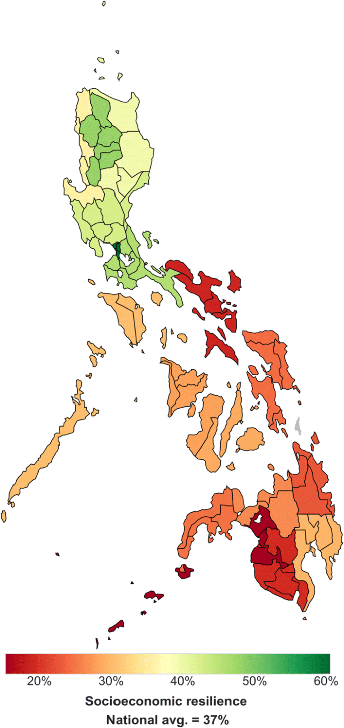 Picture of: Measuring Natural Risks In The Philippines Socioeconomic Resilience And Wellbeing Losses Springerlink