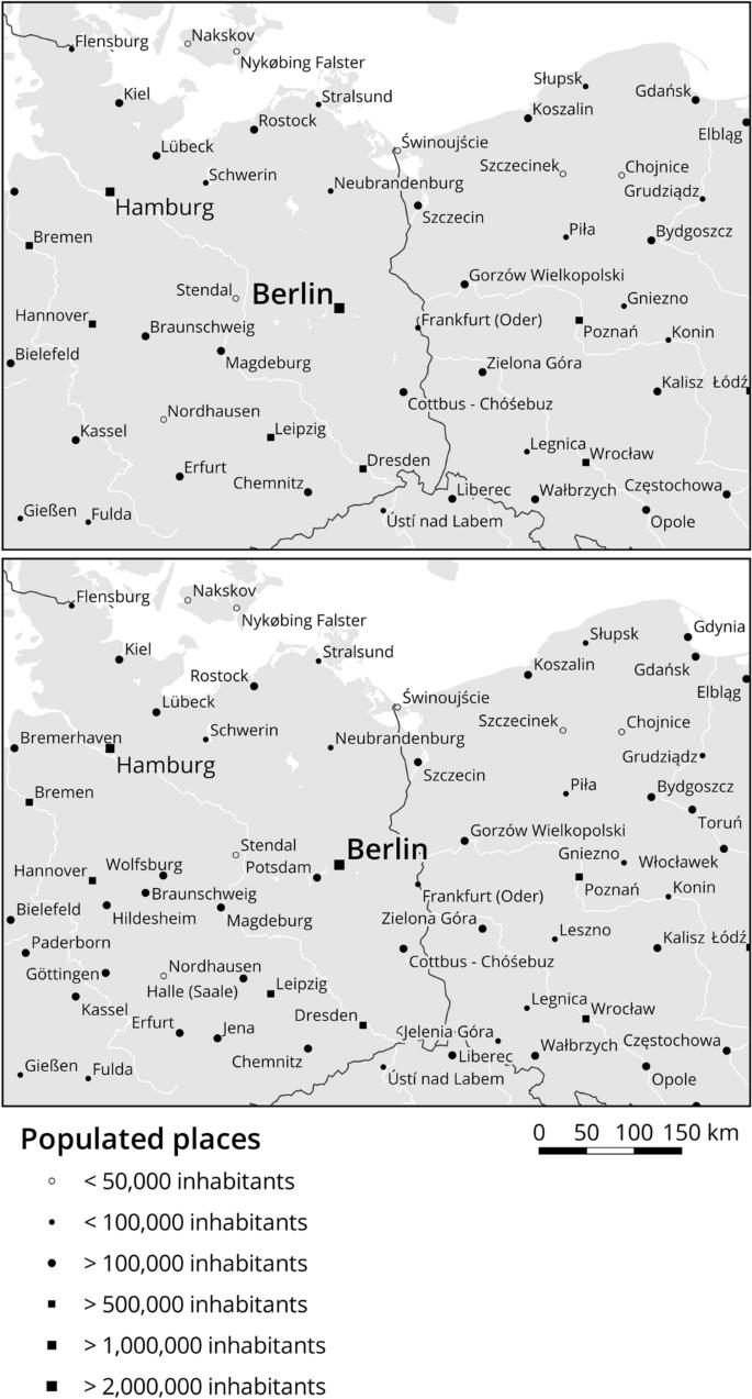 Scale Dependent Point Selection Methods for Web Maps   SpringerLink