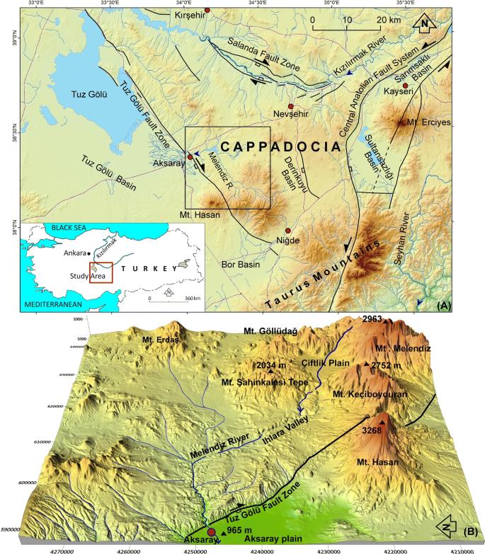 Geomorphological Evolutionary History Of The Melendiz River Valley