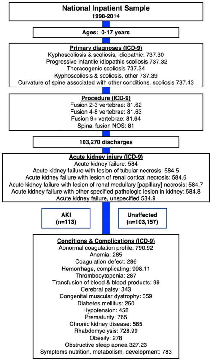 Incidence Of And Factors Associated With Acute Kidney Injury After Scoliosis Surgery In Pediatric Patients Springerlink