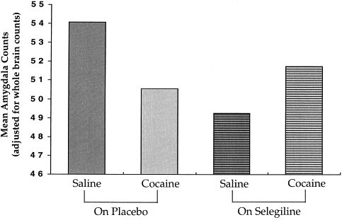 Selegiline Effects on Cocaine-Induced Changes in Medial