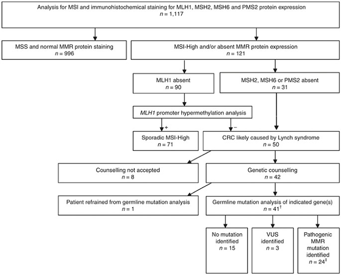 Cost Effectiveness Of Routine Screening For Lynch Syndrome In Colorectal Cancer Patients Up To 70 Years Of Age Genetics In Medicine