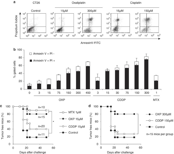 Immunogenic Death Of Colon Cancer Cells Treated With Oxaliplatin Oncogene
