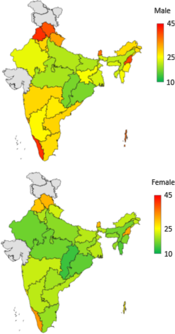 Emerging trends in hypertension epidemiology in India