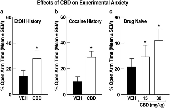 Unique treatment potential of cannabidiol for the prevention