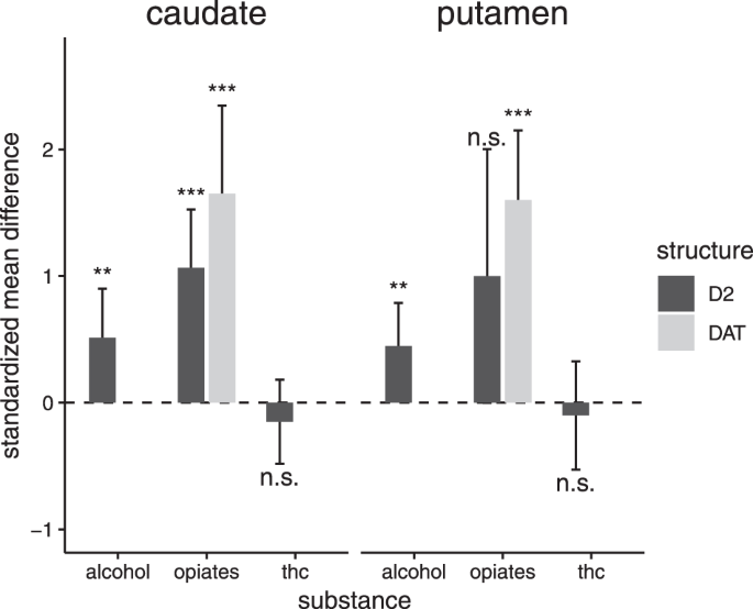 Effects of sedative drug use on the dopamine system: a systematic