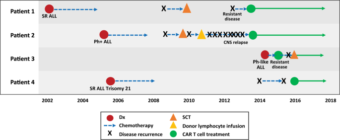 The journey to CAR T cell therapy: the pediatric and young adult