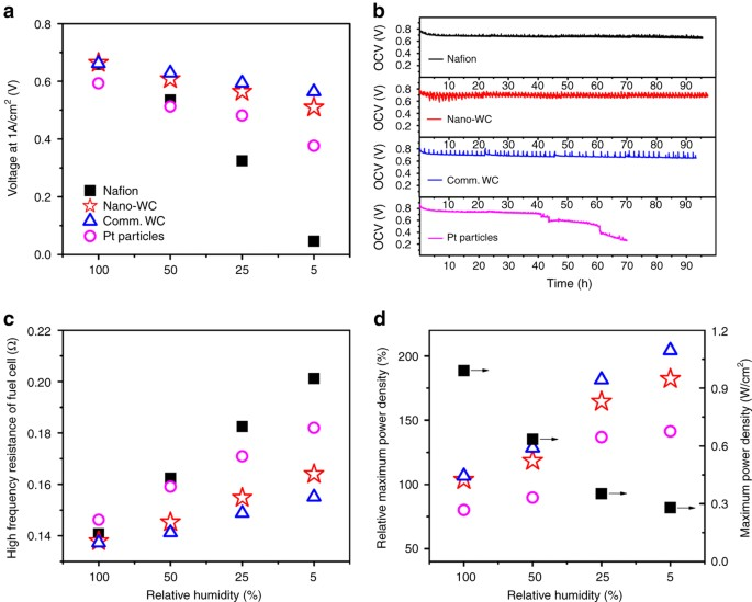 Durable and self-hydrating tungsten carbide-based composite polymer