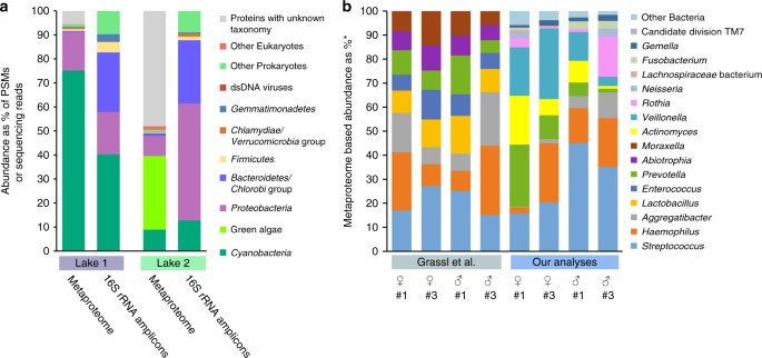 Assessing species biomass contributions in microbial communities via