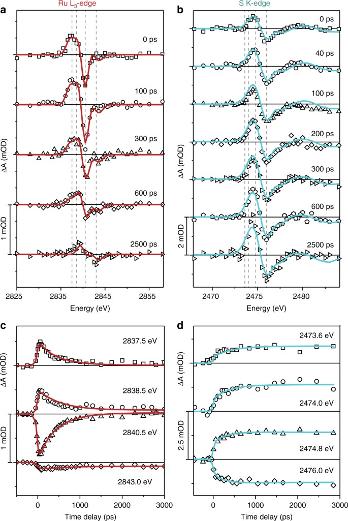 Transient metal-centered states mediate isomerization of a