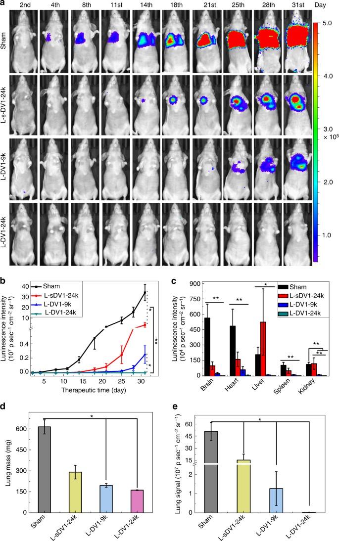 Peptide density targets and impedes triple negative breast cancer