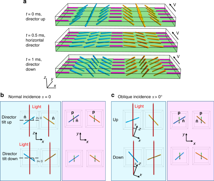 Electrically driven three-dimensional solitary waves as director