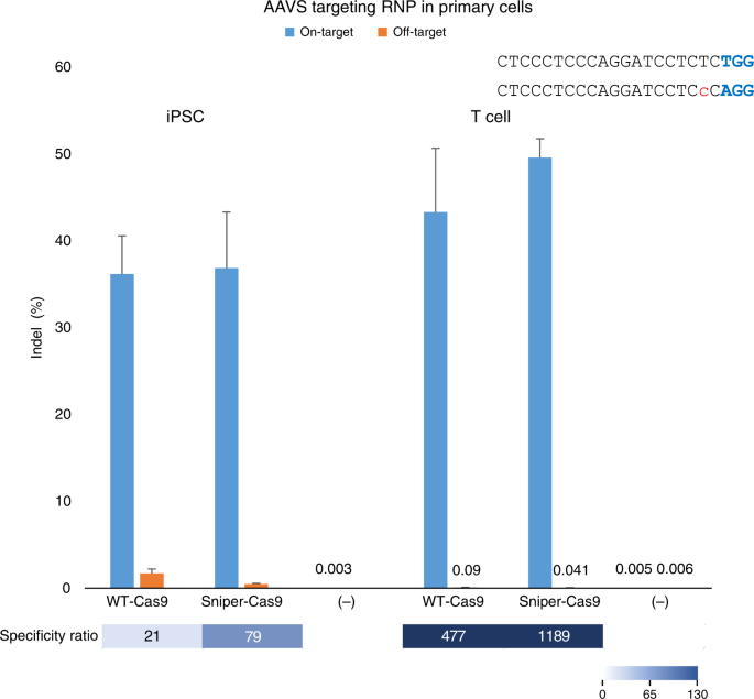 Directed evolution of CRISPR-Cas9 to increase its specificity