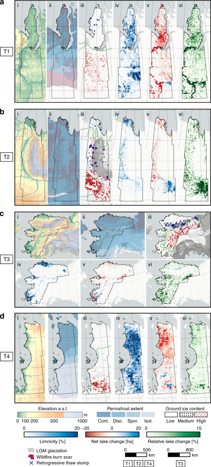 Remote sensing quantifies widespread abundance of permafrost region