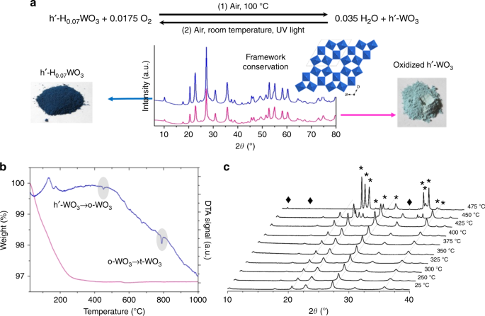 Structure and electrochromism of two-dimensional octahedral