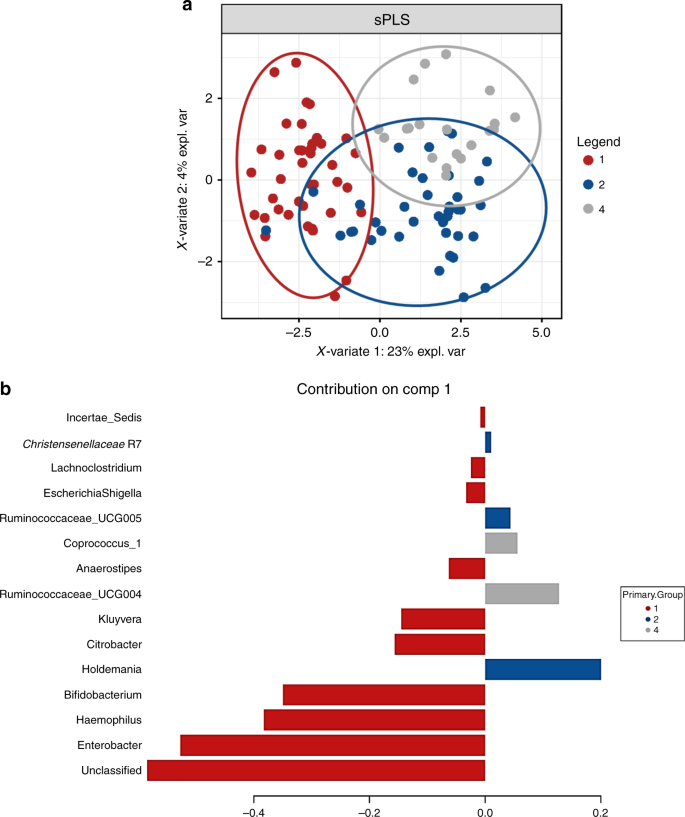 Perinatal factors affect the gut microbiota up to four years