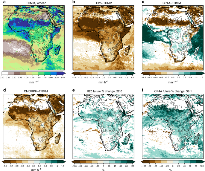 Enhanced future changes in wet and dry extremes over Africa at