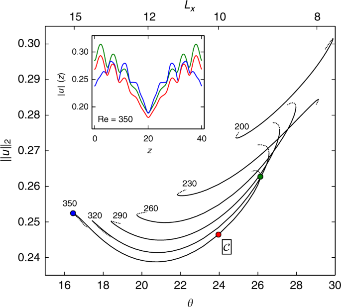 Exact invariant solution reveals the origin of self-organized