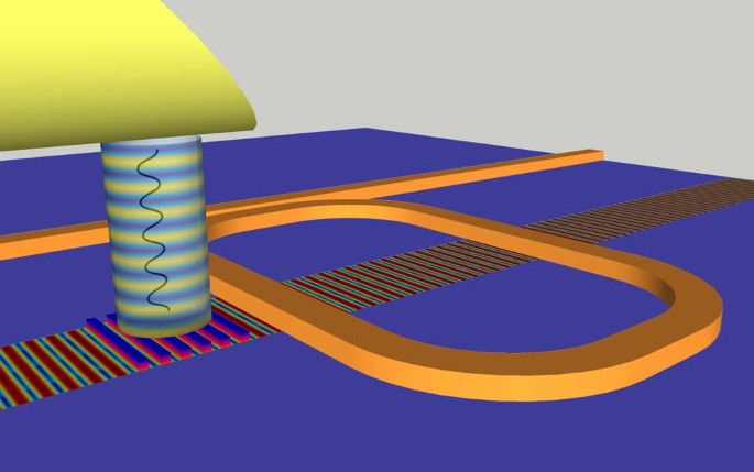 Surface acoustic wave photonic devices in silicon on insulator