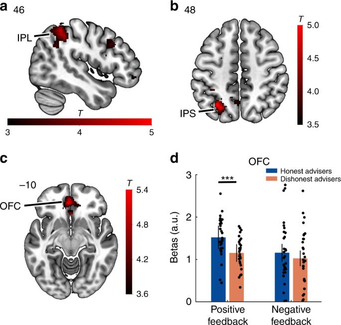Neural representations of honesty predict future trust behavior