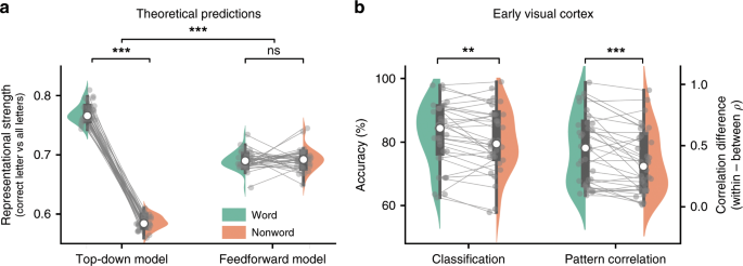 Word Contexts Enhance The Neural Representation Of Individual Letters In Early Visual Cortex Nature Communications