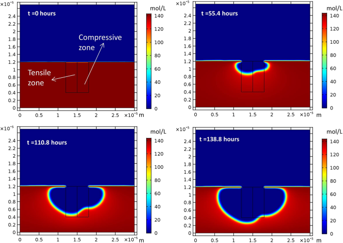Phase-field model of pitting corrosion kinetics in metallic