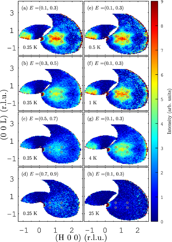 Multicomponent fluctuation spectrum at the quantum critical point in C