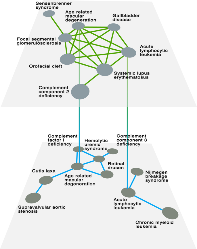 The multiplex network of human diseases | npj Systems Biology and