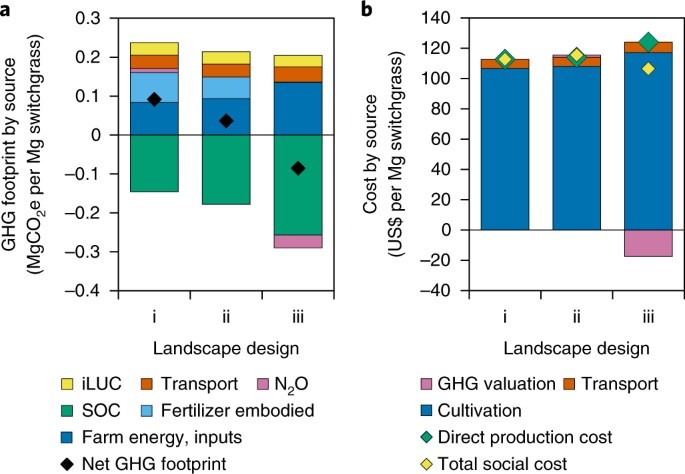 High-resolution techno–ecological modelling of a bioenergy landscape