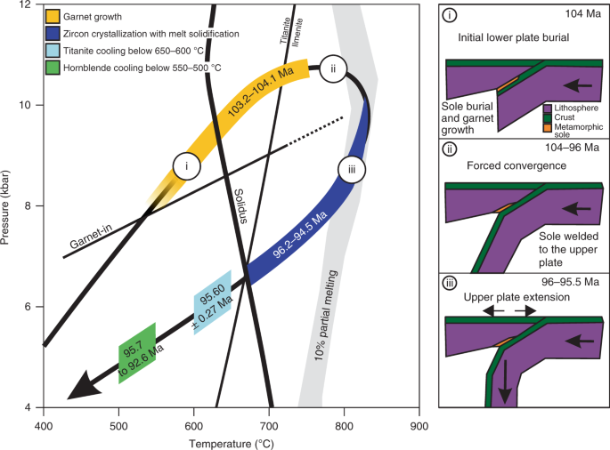 Forced subduction initiation recorded in the sole and crust