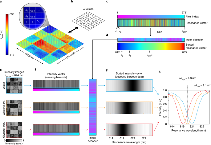 Ultrasensitive hyperspectral imaging and biodetection enabled by