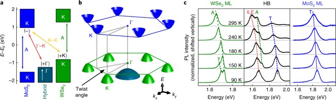 Momentum-space indirect interlayer excitons in transition