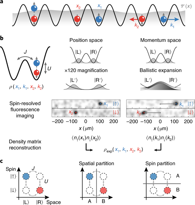 Experimental characterization of two-particle entanglement through