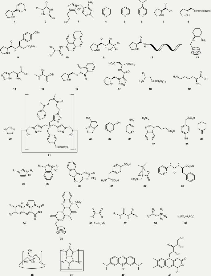 Organocatalysis in aqueous media | Nature Reviews Chemistry