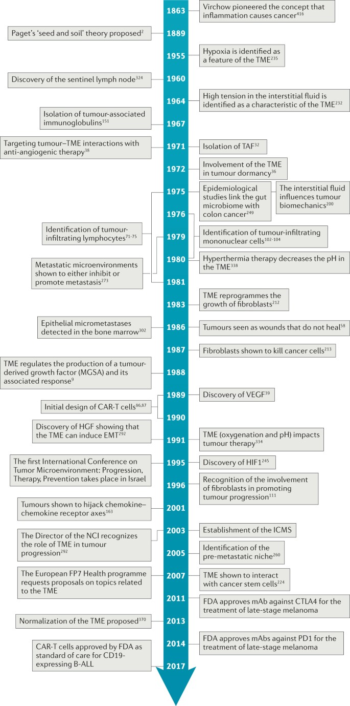 A history of exploring cancer in context | Nature Reviews