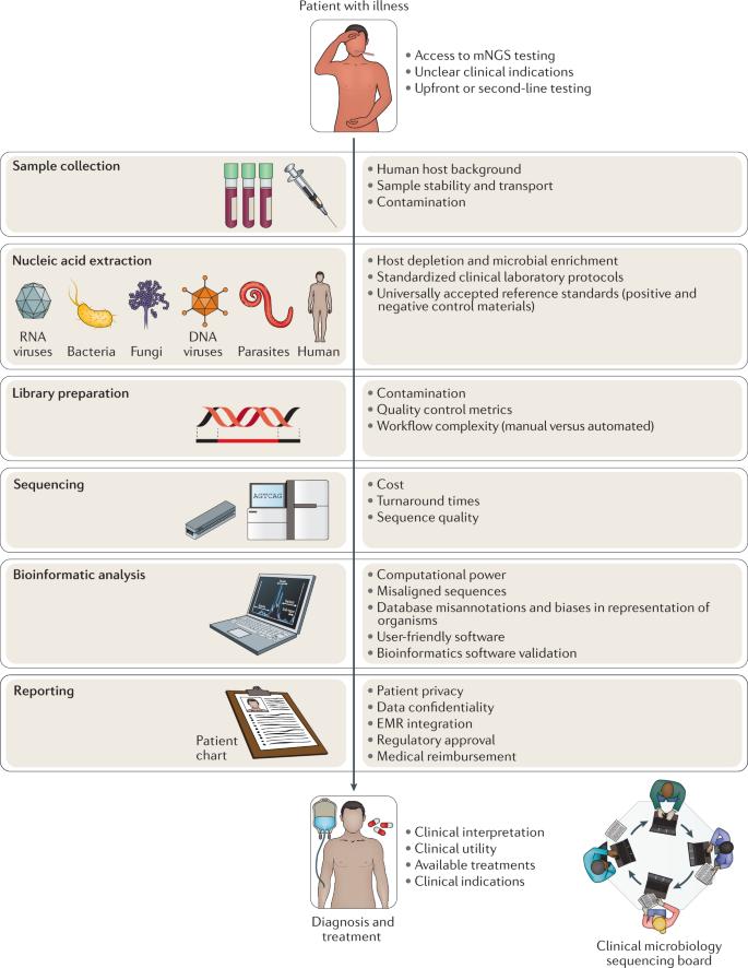 Clinical metagenomics   Nature Reviews Genetics