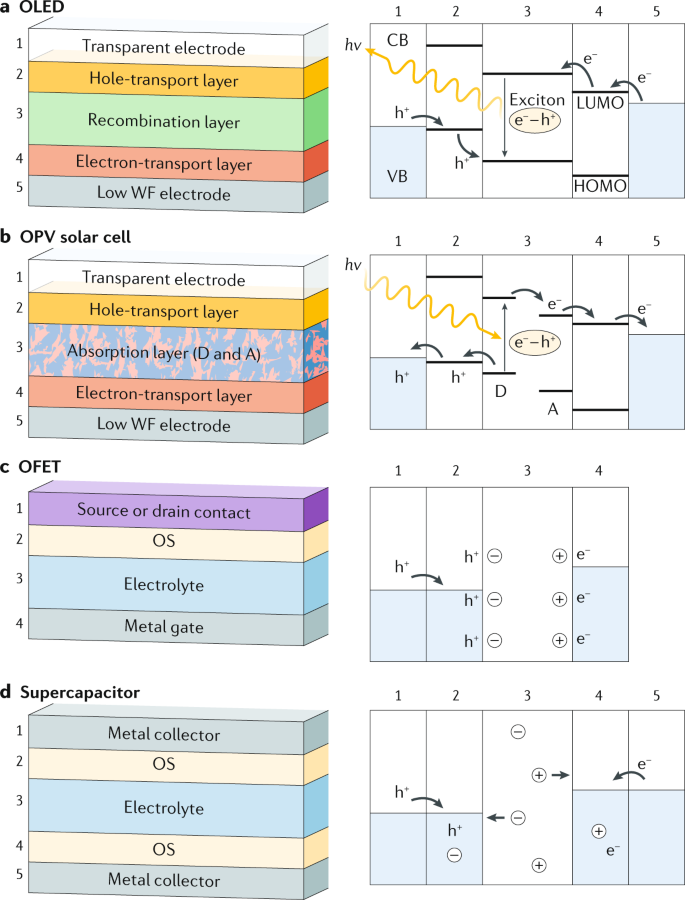 Interfaces in organic electronics   Nature Reviews Materials