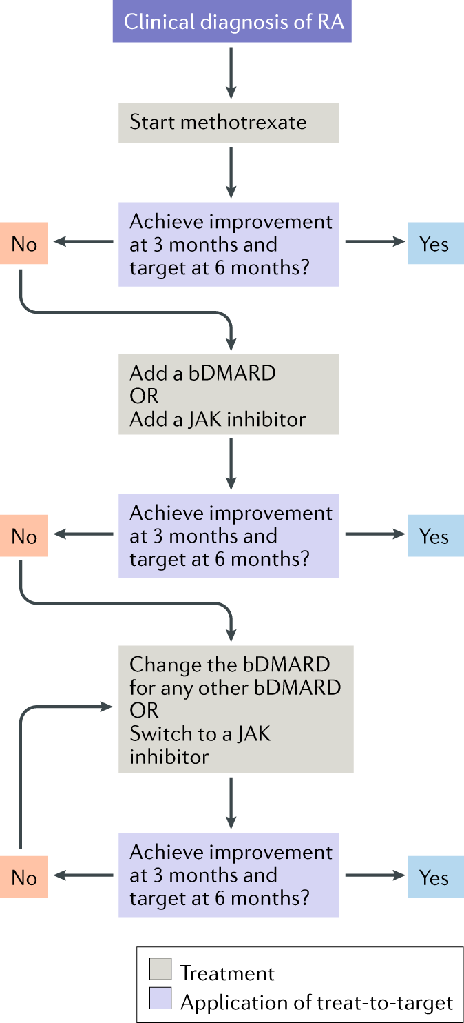 rheumatoid arthritis treatment guidelines 2020)