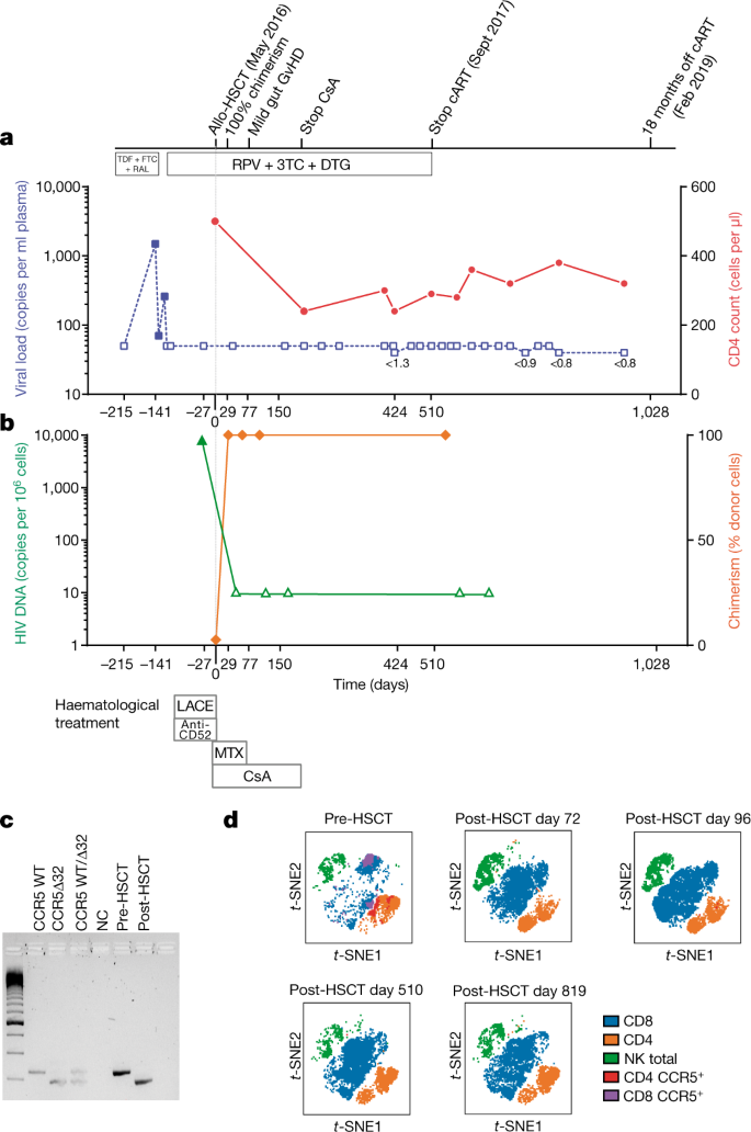 HIV-1 remission following CCR5Δ32/Δ32 haematopoietic stem-cell