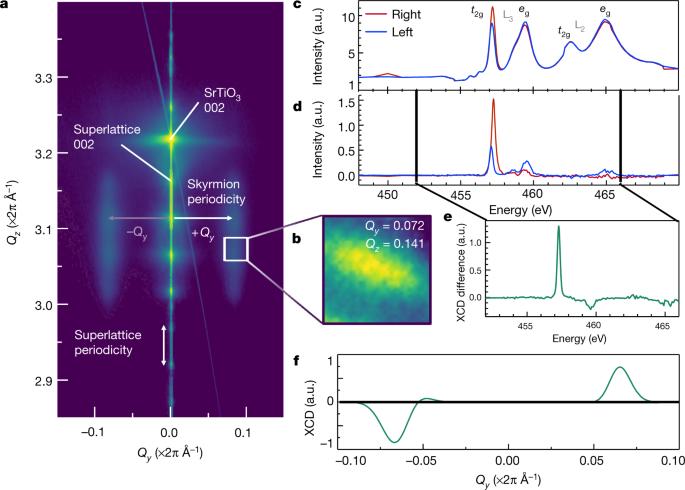 Observation of room-temperature polar skyrmions | Nature