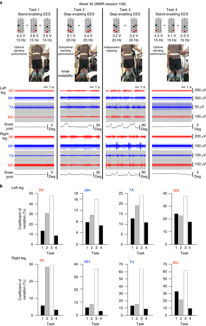 Neuromodulation of lumbosacral spinal networks enables independent