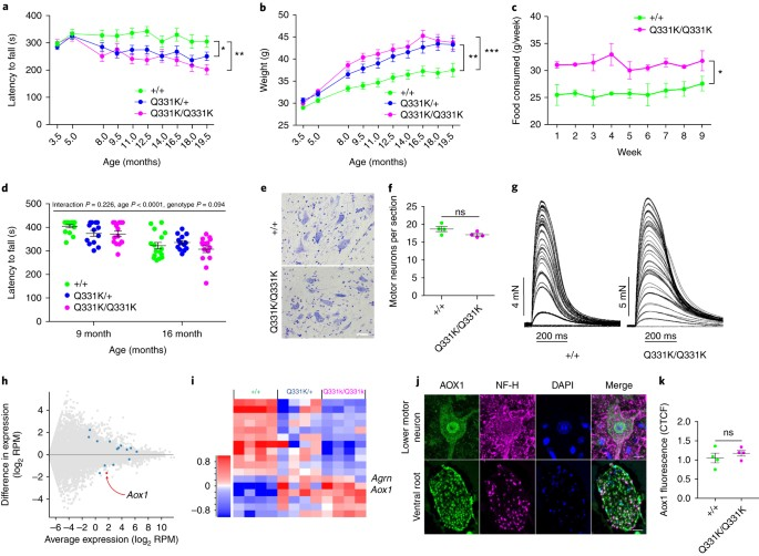 TDP-43 gains function due to perturbed autoregulation in a Tardbp
