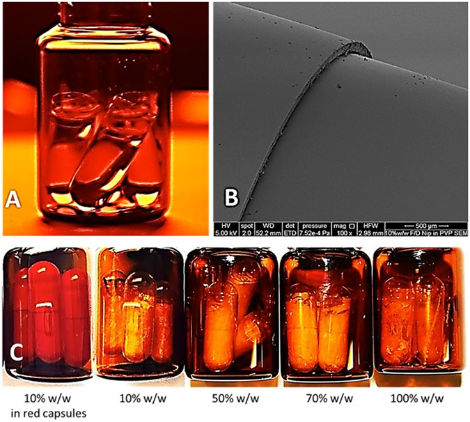 In-situ freeze-drying - forming amorphous solids directly within